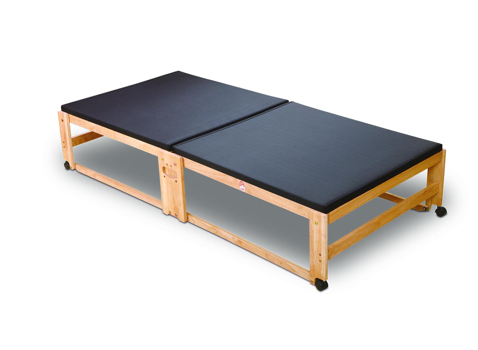 [NK-2791]炭入り折りたたみベッド畳 ハイタイプ シングル