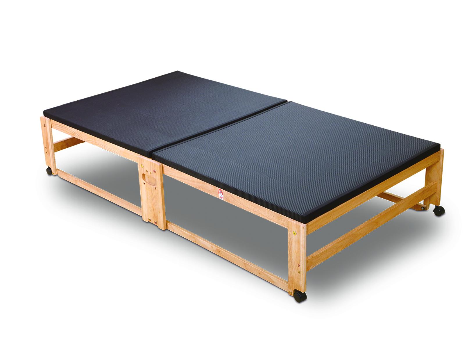 [NK-2792]炭入り折りたたみベッド畳 ハイタイプ ワイドシングル
