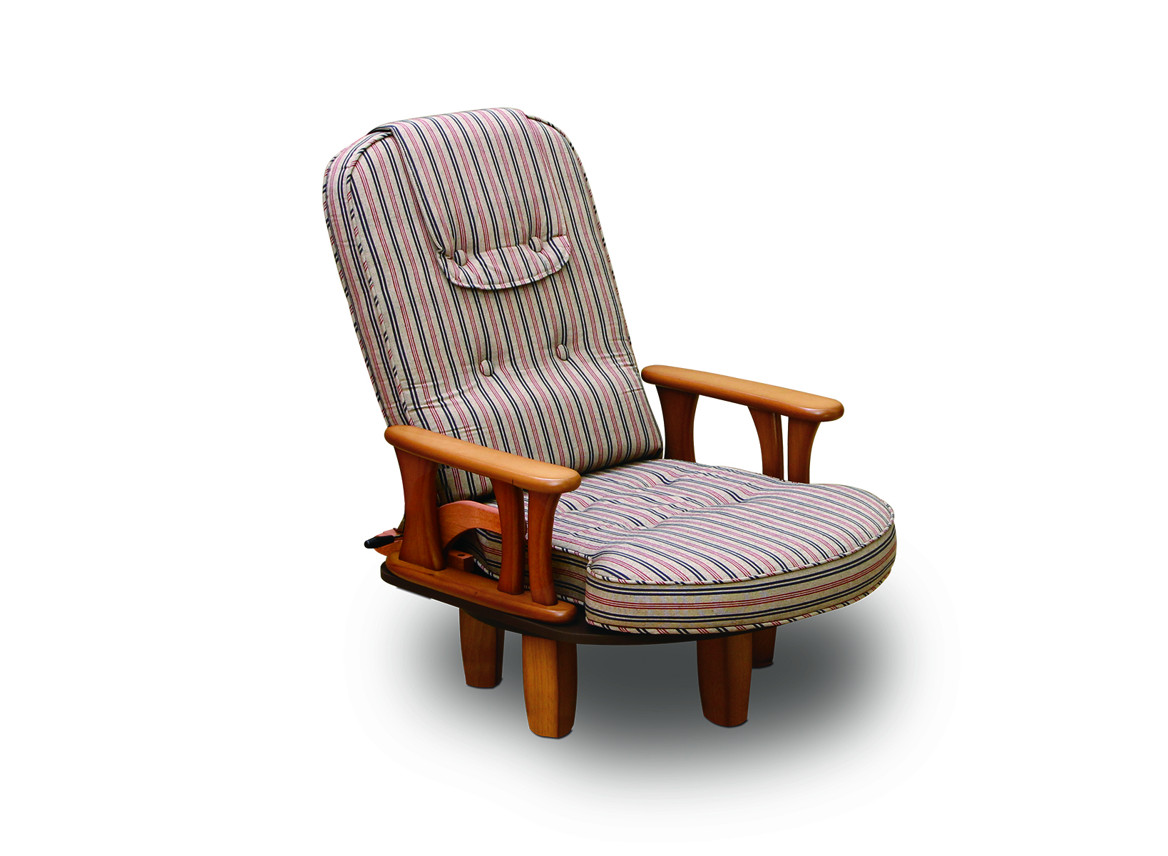 [NK-2242]回転肘付き座椅子パーソナルチェアー 無段階調整