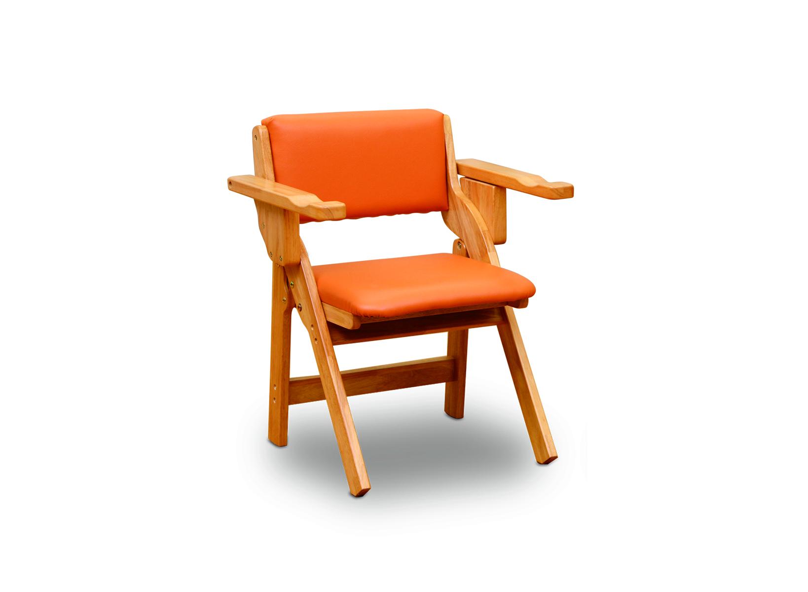 折りたたみ椅子(肘付き)