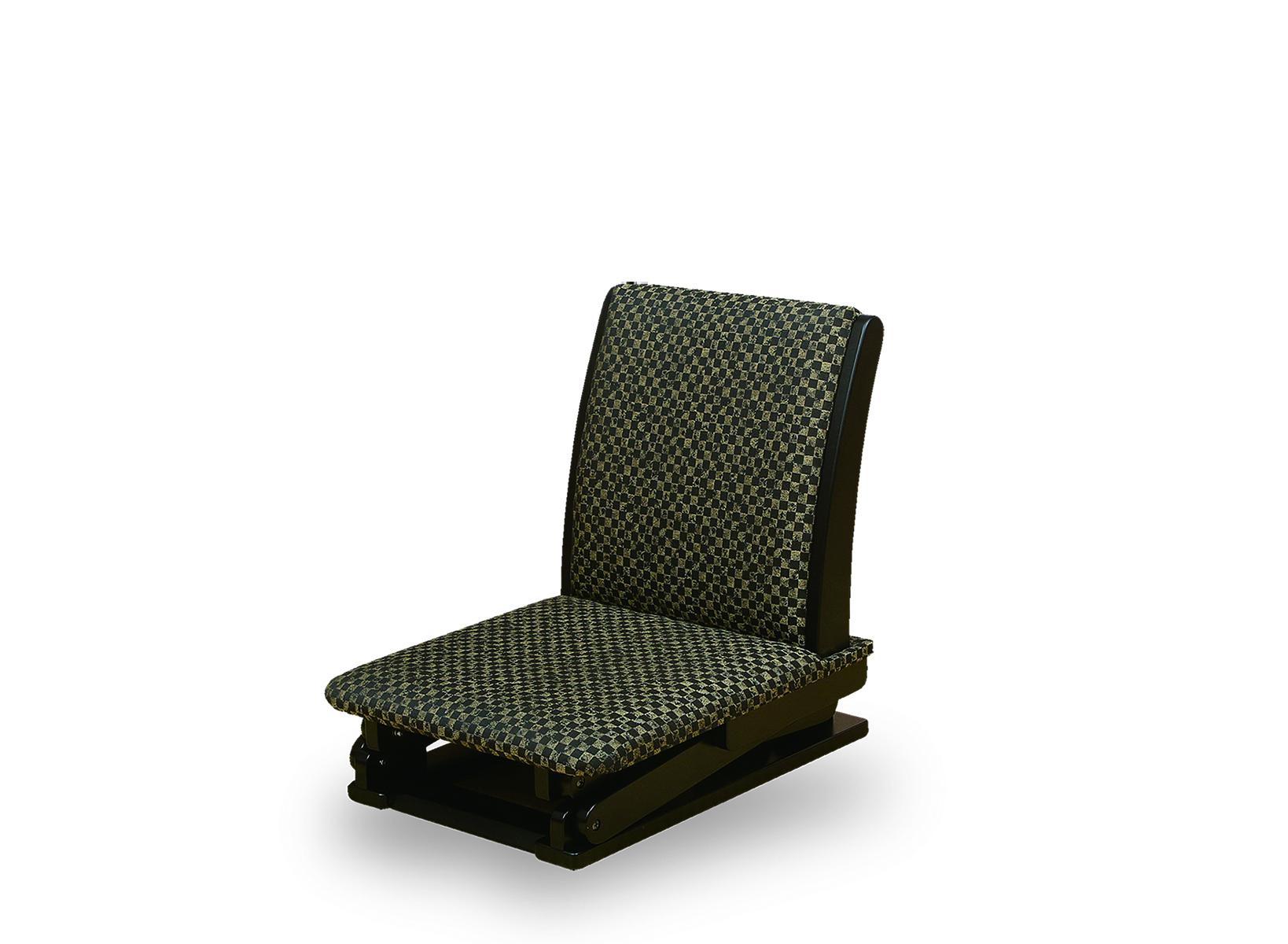 [NK-2211]高さが変わる座椅子 黒