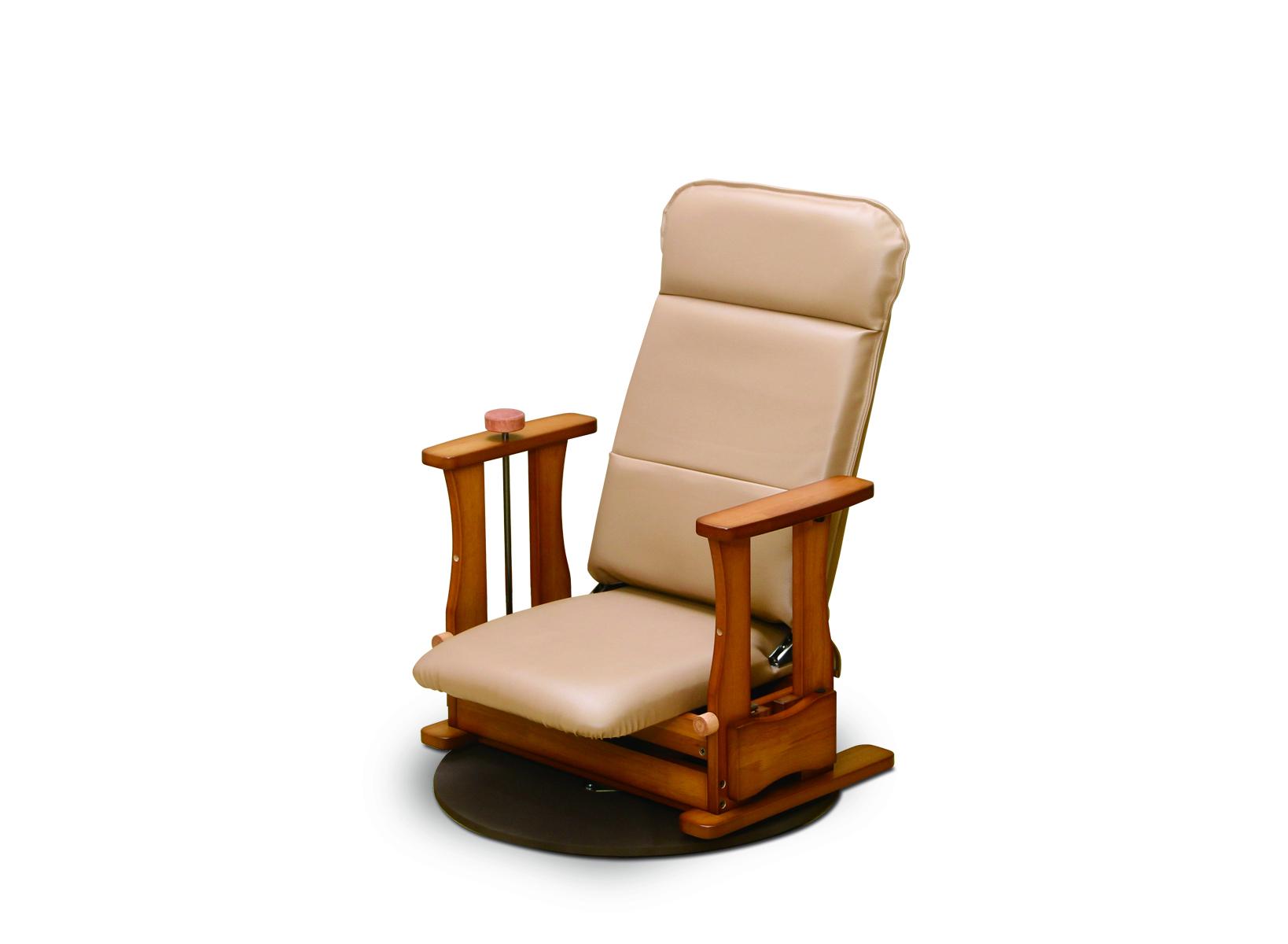 [NK-2028]起立補助椅子 ロ-タイプDX 回転付き