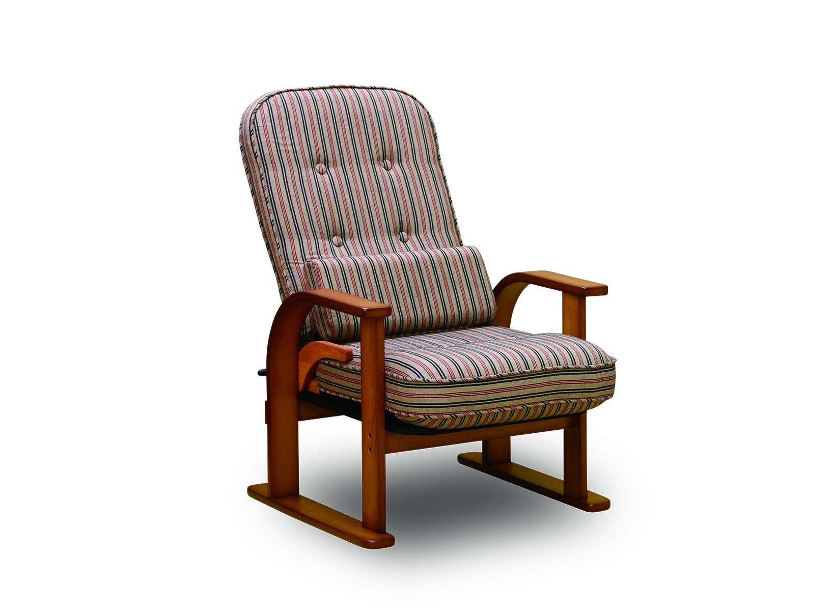 [NK-2232]肘付き高座椅子 無段階調整 ハイタイプ